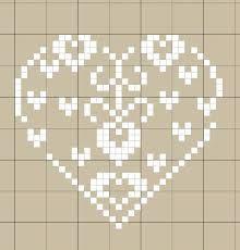 """Résultat de recherche d'images pour """"grille petit motif coeur"""""""