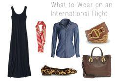 Travel Fashion Challenge: What to Wear on an International Flight
