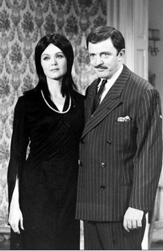 They're creepy and they're kooky: Audition photos for 'The Addams Family,' 1964 | Dangerous Minds Original Addams Family, The Addams Family 1964, Addams Family Tv Show, John Astin, Carolyn Jones, Julie Newmar, The Munsters, Dangerous Minds, Steve Aoki