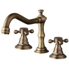 Bathroom Faucet Brass rondo widespread bathroom faucet | bathroom faucets | pinterest