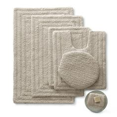 Linden Street™ Cotton Reversible Bath Rugs - jcpenney
