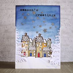 shirley-bee's stamping stuff: The Mixed Media Card Challenge