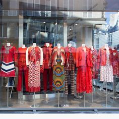 "COLETTE, Paris, France, ""When in doubt, wear red"", (There is a shade of red for every women), pinned by Ton van der Veer"