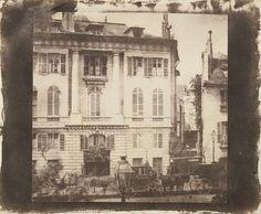 Boulevard des Italiens, Paris (5/1/1843).