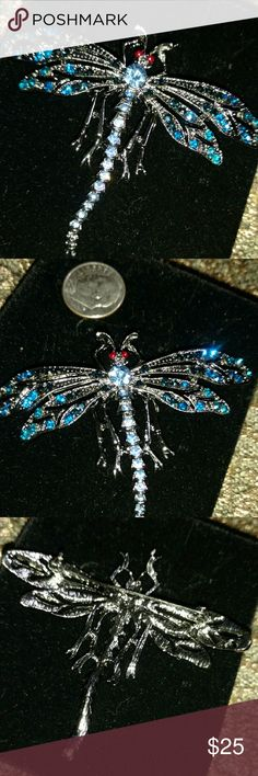 Brooch I think this is a dragonfly  Pretty Brooch  You'll get Plenty of Compliments Jewelry Brooches