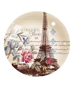 Look at this #zulilyfind! La Tour Eiffel Glass Paperweight #zulilyfinds