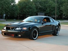2003 Ford Mustang SVT Cobra For real done right with the black rims. Love this car!