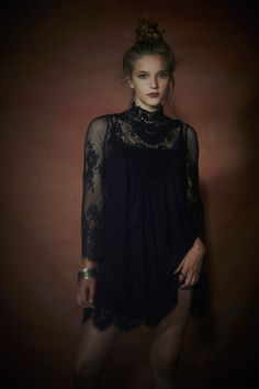 Free People Limited Edition Holiday Dress Capsule 3 Alyssa Miller, Sheila Marquez + Dorothea Barth Jorgensen for Free Peoples Holiday Limite...