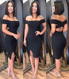 Cute Dresses, Casual Dresses, Short Dresses, Casual Outfits, Fashion Outfits, Fashion Trends, Curvy Dress, African Fashion Dresses, Chic Dress