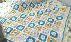 Ravelry: Granny Square Baby Blanket by Agnes Chow