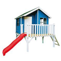 garage double voiturettes et maisonnette pour enfants 2 tages fabriqu en bois de palettes. Black Bedroom Furniture Sets. Home Design Ideas