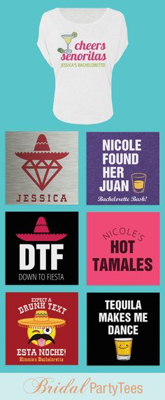 Cinco De Mayo Bachelorette Party Shirts
