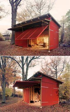 stylish shed