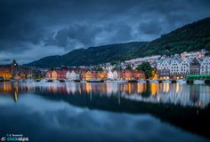 The old Bergen city by Stefano Termanini on 500px