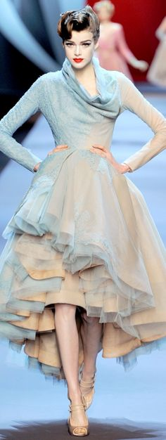 Christian Dior ~ beautiful! Wish I could afford something like this and actually have someplace to wear it!!!