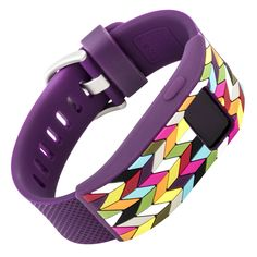 Plum Ziggy Fitbit Charge/Charge HR Sleeve from French Bull