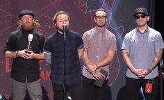 On This Day 2 years ago @Shinedown at the APMAs #Shinedown...