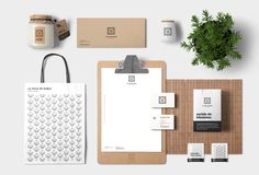 La Hoja de Roble. Corporate Identity on Behance