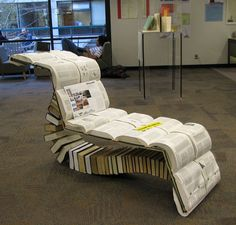 book lounge chair