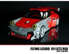 LEGO Flying Lizard - Porsche 911 GT3 RSR