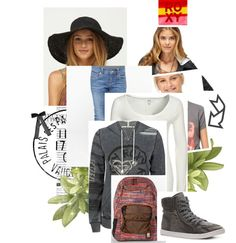"""Roxy Girl #1"" by flop-1 on Polyvore"