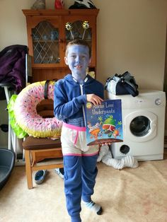Aliens love underpants outfit for world book day x