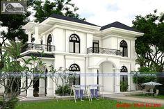 Classic House Exterior, Modern Exterior House Designs, Classic House Design, Bungalow House Design, Dream House Exterior, Modern House Plans, Modern House Design, House Outside Design, House Front Design