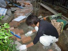 プロが教える庭のレンガ敷きDIY!!:スペガ通信