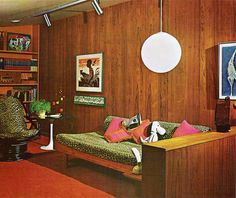 1970s Home Interiors | Back When Interior Design Had it Going On // 1970s