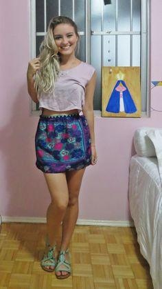 Cropped + mini saia