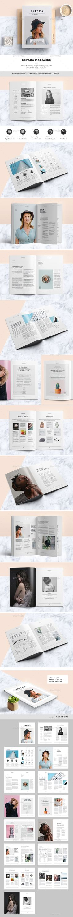 99 best lookbook template design images on pinterest in 2018