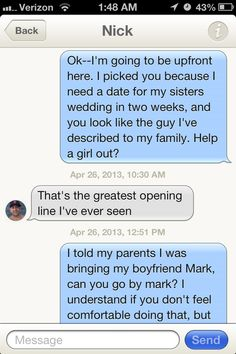 The fine art of trolling horny guys on Tinder