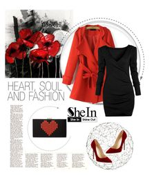 """""""Shein*14"""" by mirelagrapkic ❤ liked on Polyvore featuring Arteriors, Jimmy Choo, polyvoreeditorial and shein"""