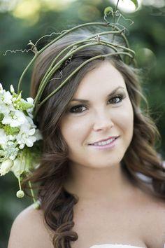Eco Friendly Woodland Style Wedding Inspiration - http://fabyoubliss.com: