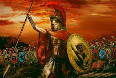 Alexandre o Grande. Alexander The Great Tomb, Alexander The Great Quotes, Greatest Warriors In History, Great Warriors, Alexandre Le Grand, Trojan War, Trojan Horse, Ancient Greece, History Facts