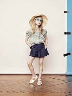 Talc S/S12. Such a cute look.
