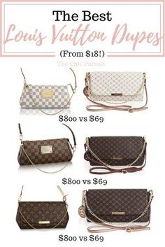 90310167e7f9 The Best Louis Vuitton Dupes That Money Can Buy(For Under  70!)