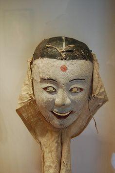 Korean mask, 18th century by Yoav, via Flickr