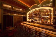 Appetizing Design: 9 New and Noteworthy NYC Restaurants barrel ceiling