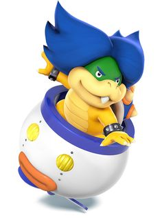 Ludwig von Koopa - Characters & Art - Super Smash Bros. for 3DS and Wii U