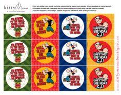 Popeye the sailor man birthday invitation by DesignedbyDaniN