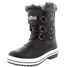 Womens Snow Boot Quilted Short Winter Snow Rain Warm Waterproof Boots  8  GRT39 YC0036 >>> Check out the image by visiting the link. (This is an affiliate link)