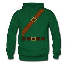 Link Hoodie. The back even has a shield. Didn't play a lot of Zelda when I was little, but I know tons of folks who'd want one.