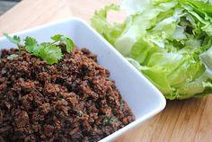 Crockpot Lettuce Wraps - Shugary Sweets copycat PF changs recipe