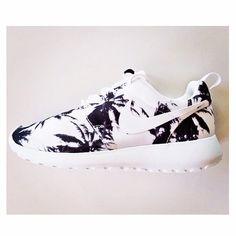 Nike Roshe Run - palm trees