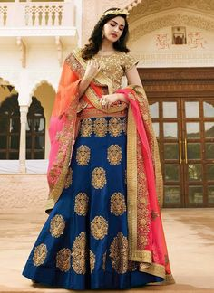 Looking to Buy Lehenga Online: Buy Indian lehenga choli online for brides at best price from Andaaz Fashion. Choose from a wide range of latest lehenga choli designs. Indian Wedding Lehenga, Bridal Lehenga Choli, Lehenga Saree, Anarkali, Wedding Lehanga, Indian Bridal, Eid Dresses, Indian Dresses, Indian Outfits