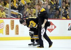 Penguins captain Crosby is questionable to play after blow to head