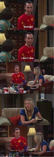 Sheldon and Penny