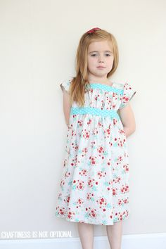 oliver and s garden party dress - craftiness is not optional Like the gathered bodice on this.
