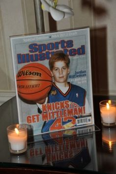 Pictures of Jordan on Sports Illustrated magazine covers looked very authentic